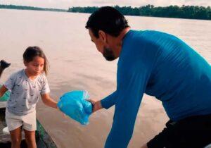 Expedição do Amapá tem encontro emocionante com ribeirinhos