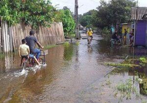 Cheia afeta milhares no Sul do Amapá