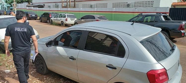 Polícia procura suposto motorista de aplicativo que teria dado fuga a assaltantes no Congós