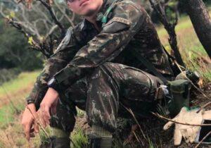 Militar do Exército morre em acidente de moto