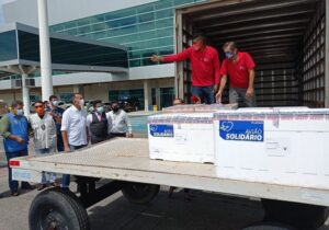 Amapá recebe a maior remessa de vacinas contra covid: 52 mil doses