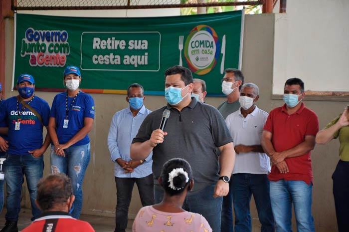 Em Amapá, Davi anuncia R$ 4 milhões para pavimentação