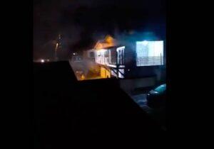 Adolescente morre carbonizada durante incêndio em Santana