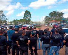 Policiais penais querem receber mesmos salários da Polícia Civil