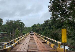 Após reformas, pontes são liberadas