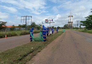 No Amapá, presidiários são treinados para atuar na limpeza e manutenção de rodovias