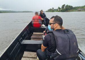 Polícia flagra transporte de cocaína pura pelo Rio Oiapoque