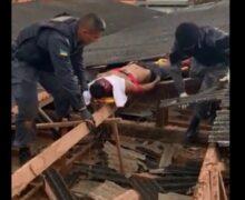 Bandido baleado em igreja se vestia de gari pra cometer roubos, diz polícia
