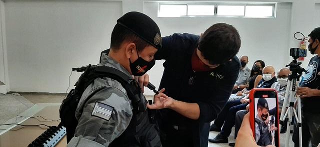 Policiais do Amapá testarão câmeras em uniformes