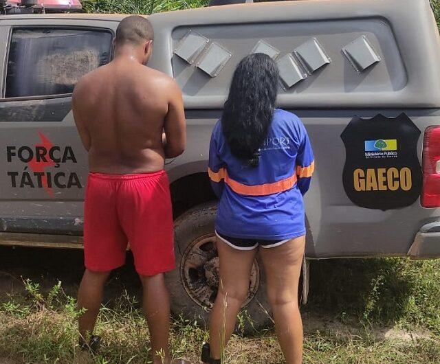 Casal foragido desativou tornozeleira e se escondeu em comunidade ribeirinha, diz polícia