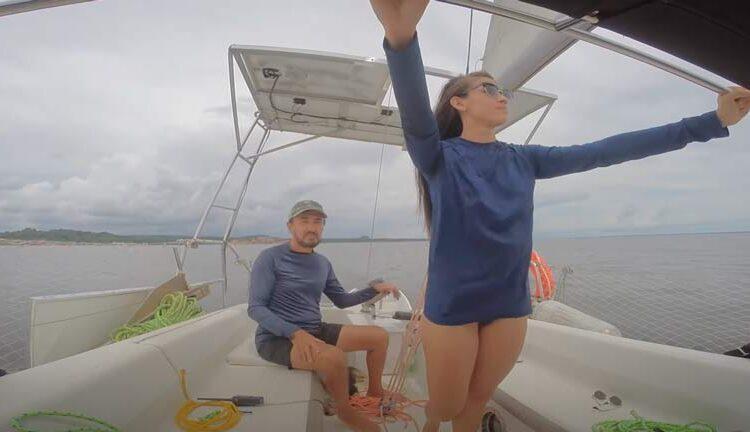 Expedição do Amapá enfrenta tempestade e encontra praia submersa
