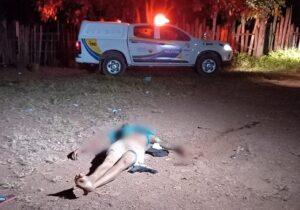 Homem com passagens por roubo de moto é executado na Gruta