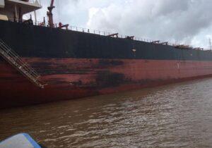 Navio com tripulação filipina contaminada está ancorado no Amapá; 1 tripulante morreu