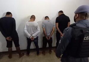 Bando formado por jovens é preso após assalto com carro de aplicativo