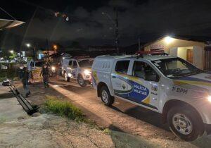 Após troca de tiros, PM prende trio que planejava roubo a residência