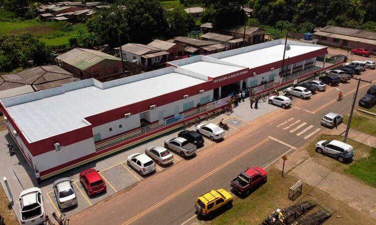 Amapá recebe UBS ampliada e lança auxílio alimentação com emendas de Randolfe