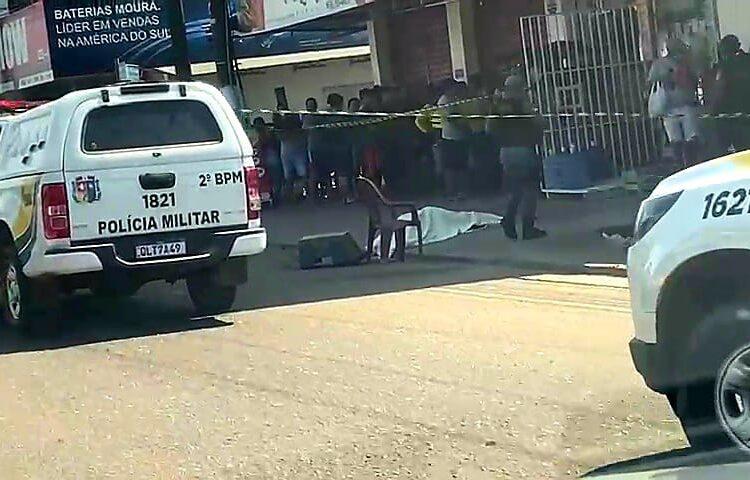 Ex-detento é surpreendido por atiradores