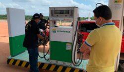 Postos de gasolina: No interior, Ipem encontra bombas com 'vazão acima'