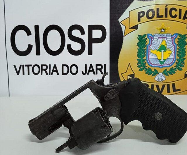 Polícia acha arma usada para tentar matar rapaz que quis sair de facção