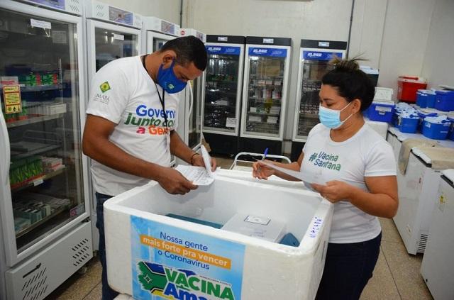 Macapá e Santana recebem 35,3 mil doses destinadas a adolescentes