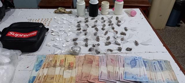 Homem que vendia drogas perto de programação do Dia das Crianças é preso