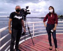 VÍDEO: cinegrafista salva mucura de se afogar no Rio Amazonas