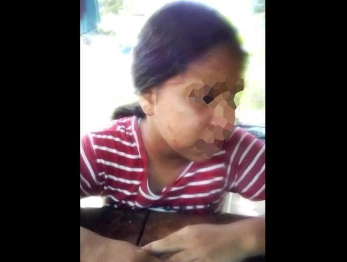 Mãe acusada de torturar filha culpa 'espírito ruim'