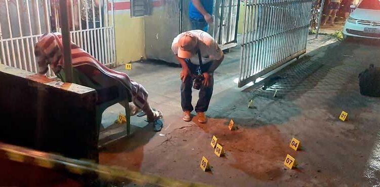 Comerciante é morto com 12 tiros durante o trabalho